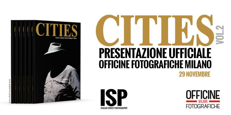 Presentazione CITIES 2 a Officine Fotografiche Milano